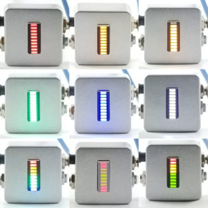 9 BoostBot pedals in a 3 x 3 grid on white background